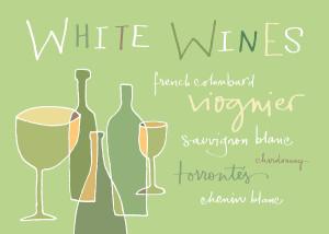 White wines varieties